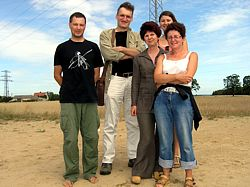Polish staff at Drawsko